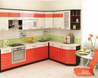 Кухня Оранж Витра